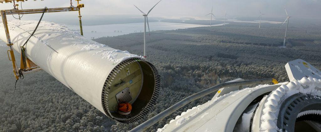 unlimited energy GmbH - Bau von Windkraftanlagen